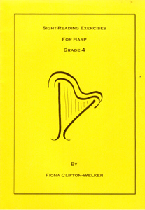 Sight-Reading Exercises For Harp Grade 4 - Fiona Clifton-Welker