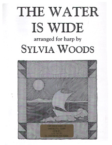 The Water Is Wide - Download - Arranged for Harp by Sylvia Woods