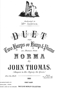 Duet on Themes from Norma - Arranged by John Thomas