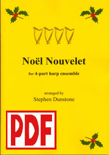 Noel Nouvelet - Download - 4 part ensemble - Stephen Dunstone