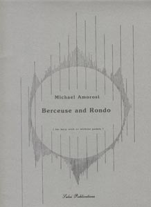 Berceuse and Rondo for Harp With or Without Pedals - Michael Amorosi