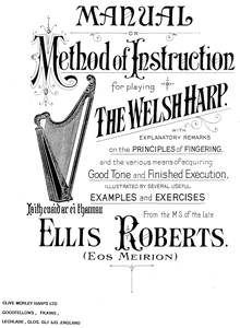 Method of Instruction for playing the Welsh Harp - Ellis Roberts