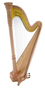Musa 47 Maple Pedal Harp (Extended) - in Stock
