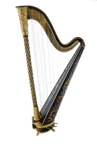 Erat 1531 Single Action Pedal Harp