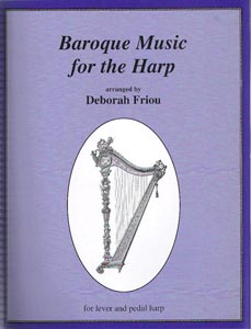 Baroque Music For The Harp - Deborah Friou