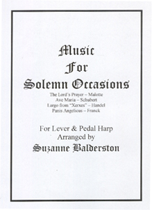 Music For Solemn Occasions - Suzanne Balderston