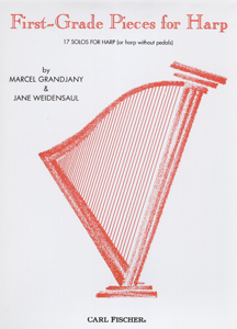 First Grade Pieces For Harp - Marcel Grandjany and Jane Weidensaul