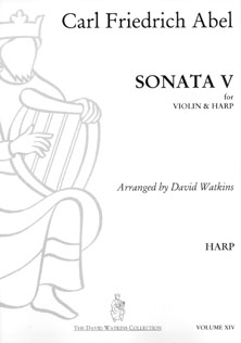 Sonata V for Violin and Harp by Carl Friedrich Abel - Arranged by David Watkins