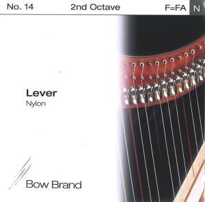 2ND OCTAVE F LEVER NYLON