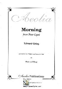 Morning from Peer Gynt, Edvard Grieg arranged for Flute and Harp by Eira Lynn Jones
