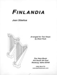 Finlandia by Jean Sibelius - Arranged for Two Harps by Shari Pack