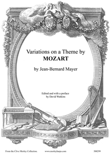 Variations on a Theme by Mozart - Jean-Bernard Mayer