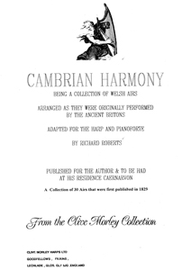 Cambrian Harmony - Richard Roberts