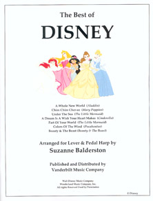 The Best of Disney - Arranged by Suzanne Balderston