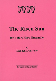The Risen Sun for 4 Part Harp Ensemble - Stephen Dunstone