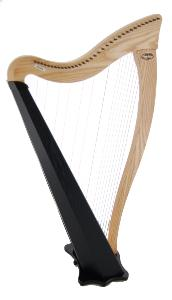 Ravenna 34 Standard Finish - Solo Harp Only - in Stock