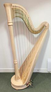 Lyon & Healy Style 85CG Pedal Harp in Natural - LH21382