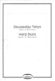 Deuawdau Telyn 1 / Harp Duos 1 - Arranged by Meinir Heulyn