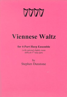 Viennese Waltz for Four Part Harp Ensemble - Stephen Dunstone
