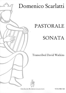 Pastorale Sonata by Domenico Scarlatti - Arranged for Harp by David Watkins