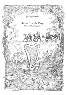 Animals On The Harp: A Suite of 6 Easy Harp Solos - Sue Rothstein