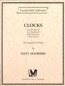 Clocks for Lever Harp - Coldplay