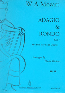 Adagio and Rondo K617 for Solo Harp and Quartet