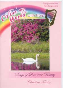 Color My World With Harp: Songs of Love and Beauty DVD - Christina Tourin