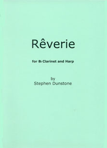 Rêverie for Bb Clarinet & Harp by Stephen Dunstone
