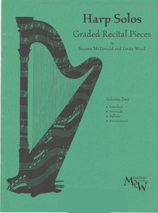 Harp Solos: Graded Recital Pieces Volume 2 - Susann Mcdonald And Linda Wood