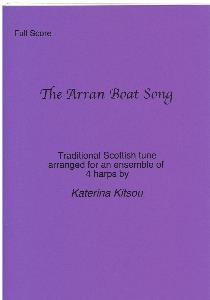 The Arran Boat Song Arranged for Four Harps by Katerina Kitsou