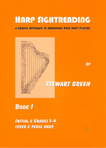 Harp Sightreading Grades 1-4 - Stewart Green