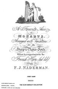 A Favorite Air Of Mozart (Duet) -  Download - F. J. Naderman