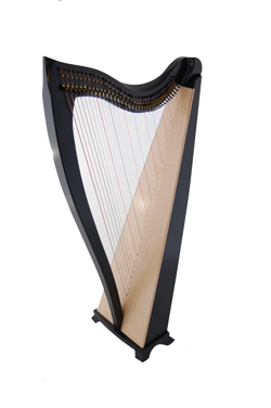 Black Finish for Dusty Strings FH Harps