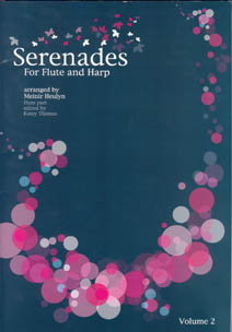 Serenades for Flute and Harp 2 Arranged by Meinir Heulyn