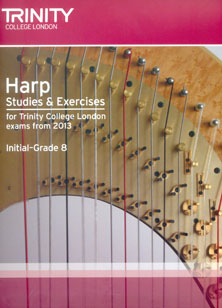 Harp Studies and Exercises for Trinity College London Exams from 2013