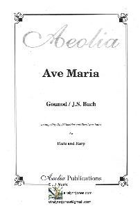 Ave Maria Gounod/J.S.Bach Arranged for Flute and Harp by Eira Lynn Jones