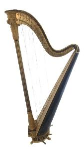Erard 1269 Single Action Pedal Harp
