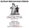 6TH OCTAVE C GRECIAN BASS WIRE