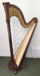 Orpheus 46 Pedal Harp in Walnut - Ex Rental - in Stock