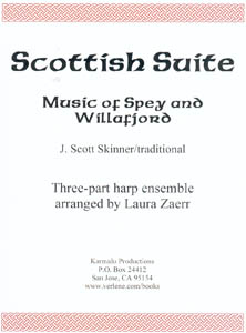 Scottish Suite - Music of Spey and Willafiord by J. Scott Skinner (Three Harps)