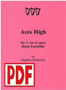 Aces High for 3 (or 4 part) Ensemble - Download - by Stephen Dunstone