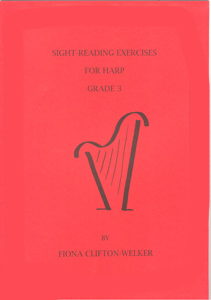 Sight-Reading Exercises For Harp Grade 3 - Fiona Clifton-Welker