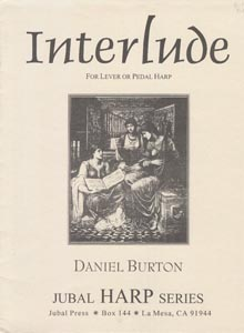Interlude For Lever or Pedal Harp - Daniel Burton