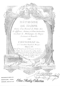 Methode de Harpe - Cousineau