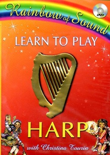 Learn to Play Harp 3 with Christina Tourin DVD