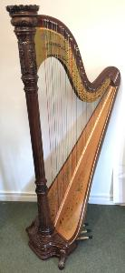 Musa 47 Pedal Harp in Walnut - Second Hand 2006