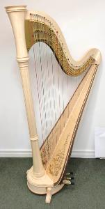 Orpheus 47 Pedal Harp in Maple - in Stock